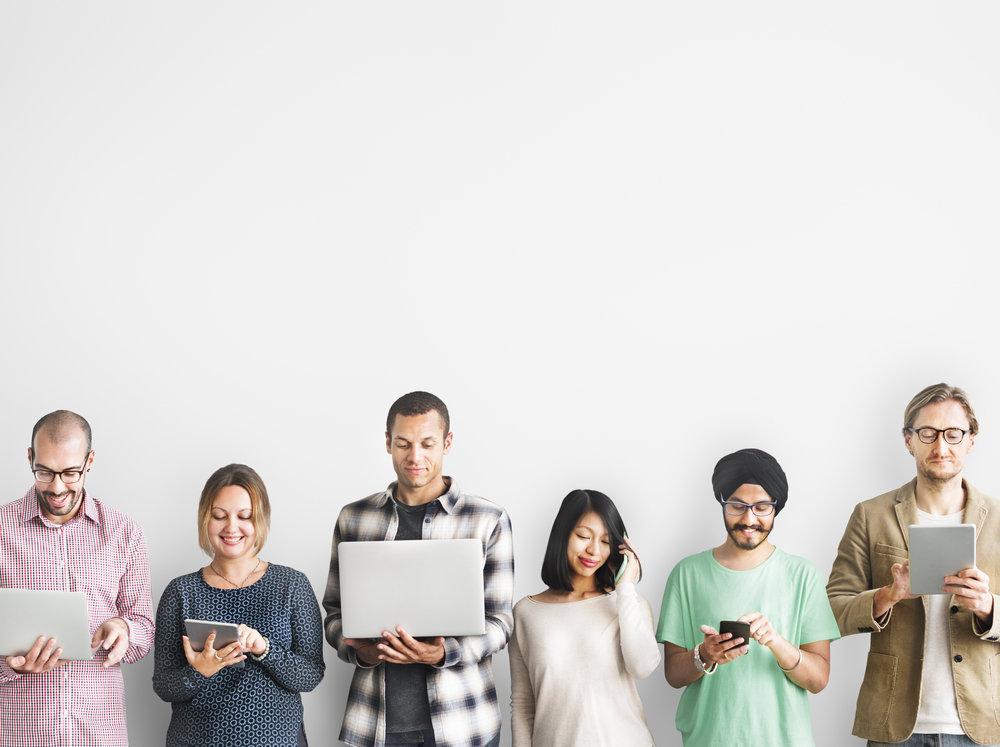 Werken met freelancers, werknemers delen, interim of flexi-jobs