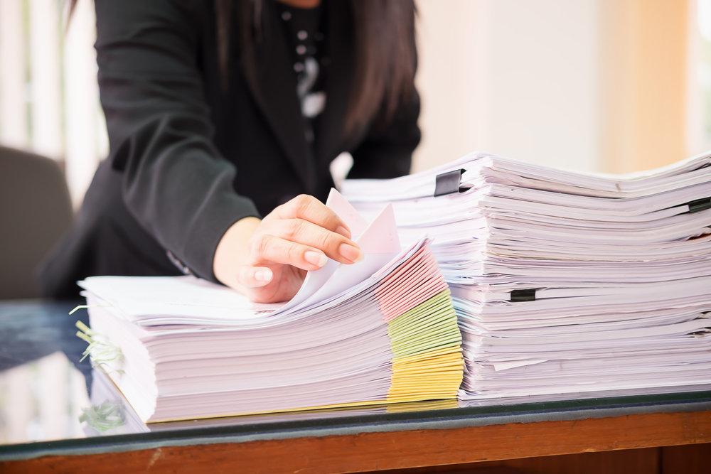 Sociale documenten invullen