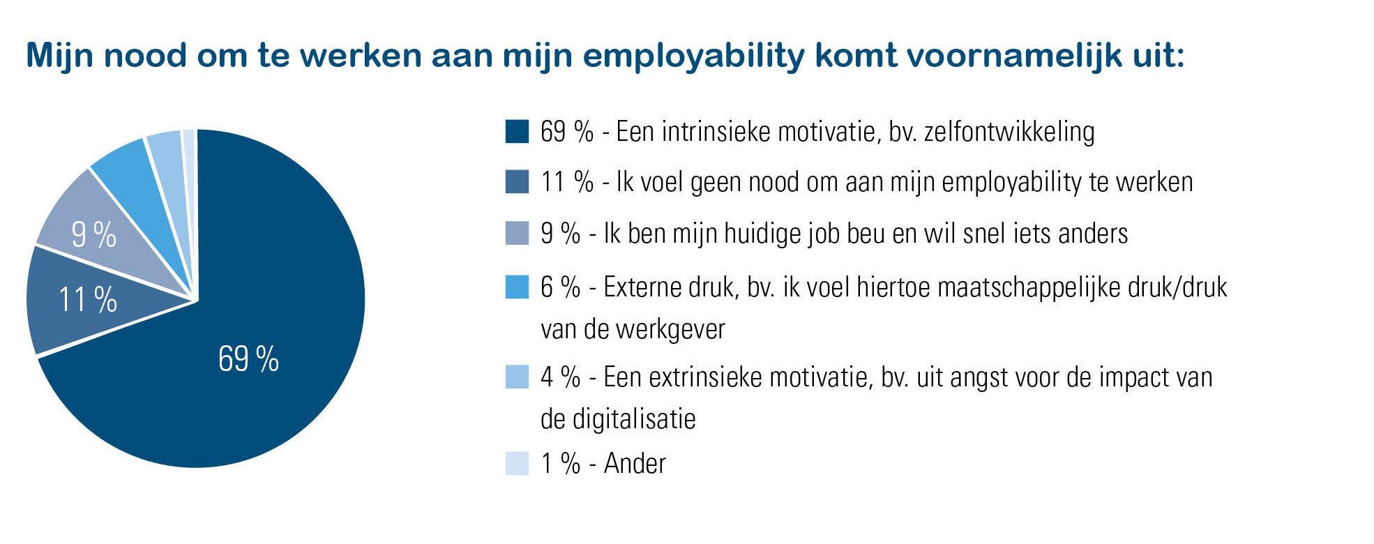 Motivatie acties employability bij werknemers - Talent Pulse