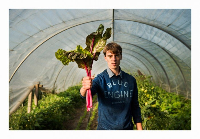 Matthias Van Buggenhout van boerderij Seizoensmaak