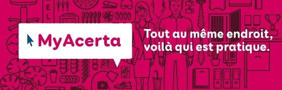 MyAcerta pour indépendants